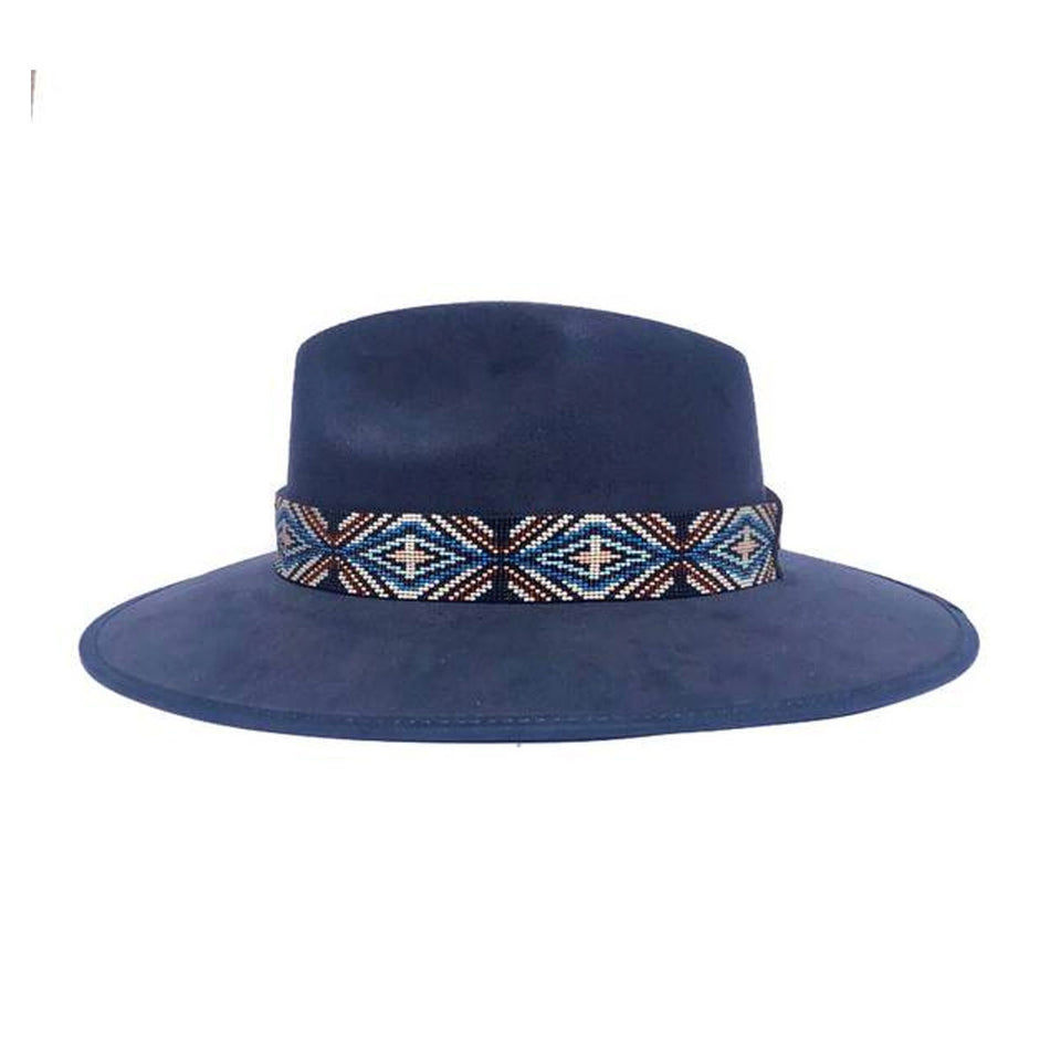 Blue Indiana Hat