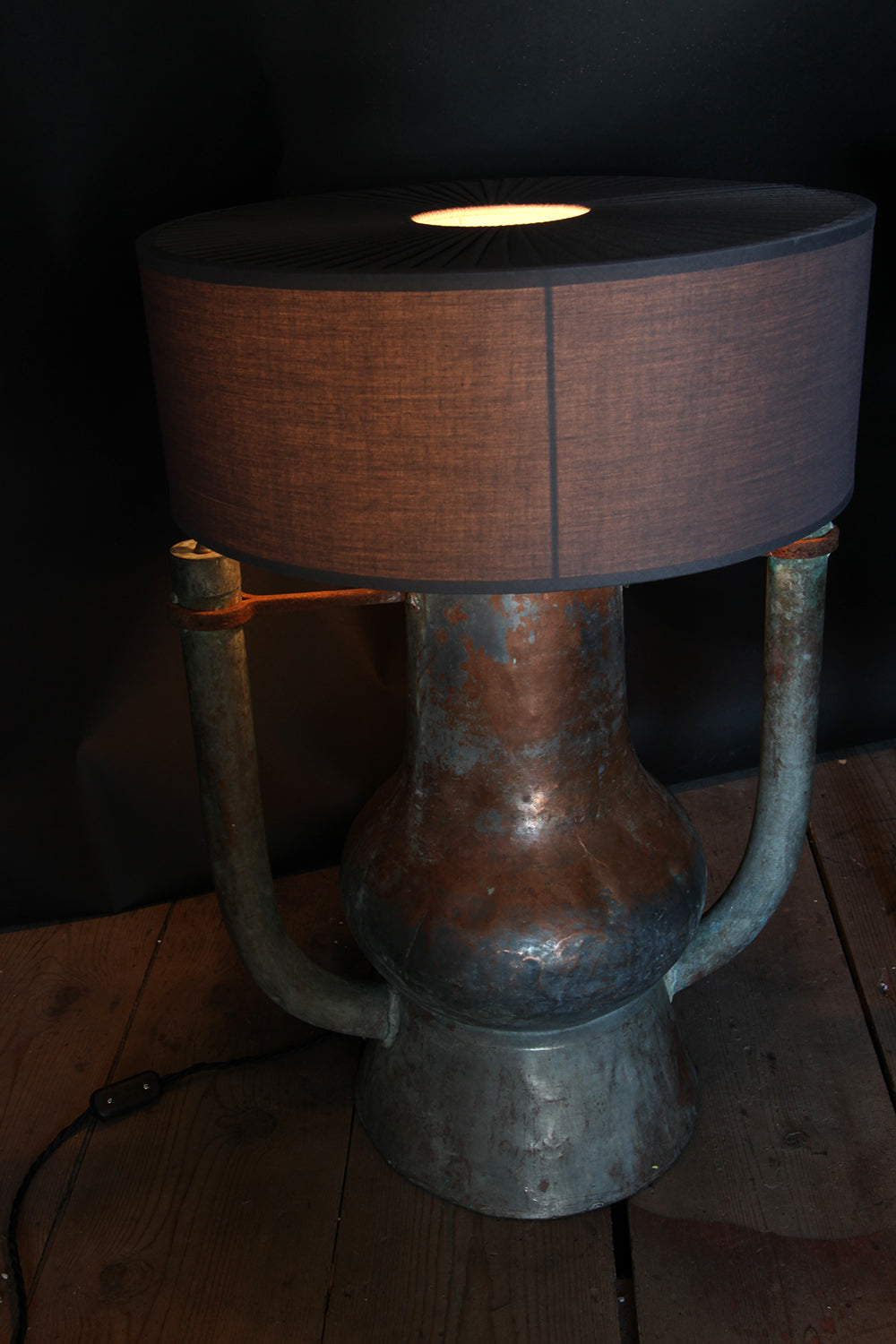 The Cognac lamp