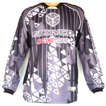 Motorcycle Motocross MX BMX Shirts BIKE JERSEY JsyScoyco_T110 S M L XL Black Blue Red Orange