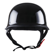 1Storm Novelty Motorcycle Helmet Half Face German Style DOT Approved: HKY602