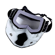 Motorcycle Goggles Mask, Detachable for Motocross Helmet Goggles use, Tactical Airsoft Goggles Mask: GK_T815-25