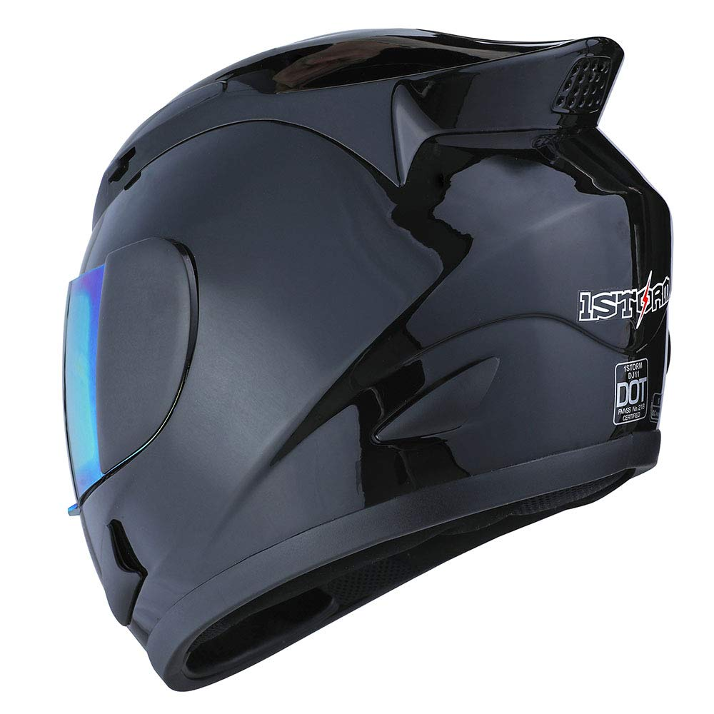 1STORM MOTORCYCLE BIKE FULL FACE HELMET MECHANIC: HJDJ11ABS