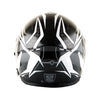 Martian Motorcycle Bluetooth Helmet Full Face Dual Visor Bluetooth Headset: HM-BH2 + Premium Leather Gloves