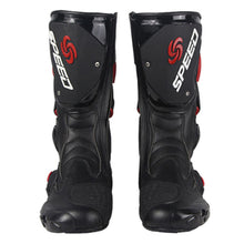 1Storm New Men's Motorcycle Long High Racing Boots B1001