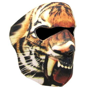 Motorcycle Bike Snowboard Ski Snow Snowmobile Face Mask Balacla Black Tiger: FM_019