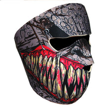 Motorcycle Bike Snowboard Ski Snow Snowmobile Face Mask Balacla Black Fang: FM043