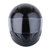 1Storm Motorcycle Bike Full Face Helmet Horn Wing as Bonus: HB75