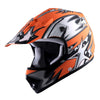 WOW Youth Kids Motocross BMX MX ATV Dirt Bike Helmet Star: HBOY-K-Star