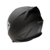Martian Genuine Real Carbon Fiber Motorcycle Dual Visor Full Face Helmet HB-BNF-B7 Matt Carbon Black, DOT Approved