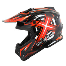 1Storm Adult Motocross Helmet BMX MX ATV Dirt Bike Helmet HF801 Racing Style + Goggles + Skeleton Glove Bundle