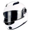 1Storm Commander Motorcycle Modular Full Face Helmet Flip up Dual Visor/Sun Shield: HJA113