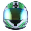 WOW Motorcycle Full Face Helmet Street Bike: HJM