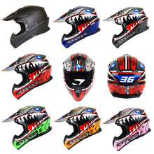 1Storm Adult Motocross Helmet BMX MX ATV Dirt Bike Downhill Mountain Bike Helmet Racing Style: HKY_SC09S