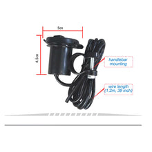 New 1Storm Motocycle Upgraded Waterproof USB Charger Adapter for Smart Phones: TBJ