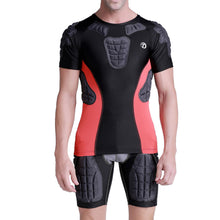 1Storm Men Nylon Anti-Collision Short Shirt/Pants Football Baseball Basketball Bike Rugby Snowboard Ski Volleyball Padded Protective Gear
