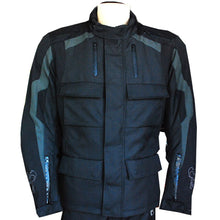 NEW Motorcycle Motocross MX ATV Dirt Bike Textile Racing Jacket ZS2-Casual-TX Black