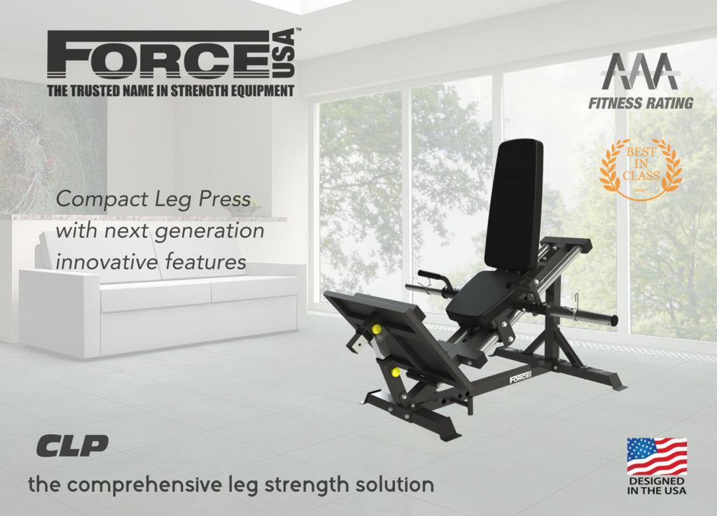 Force USA Compact Standing Leg Press and Calf Raise Combination