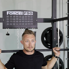 Force USA F50 Plate Loaded Multi Functional Trainer (Includes 15kg Olympic Barbell)