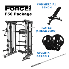 Force USA F50 Home Gym Package (PRE ORDER for 15th November)