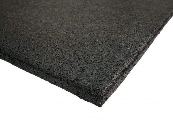HOME & FITNESS RUBBER FLOORING TILE 1M X 1M X 15MM - Garner Fitness Supplies