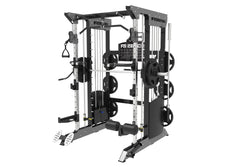 Force USA F100 Pin Loaded Multi Functional Trainer (Includes 15kg Olympic Barbell)