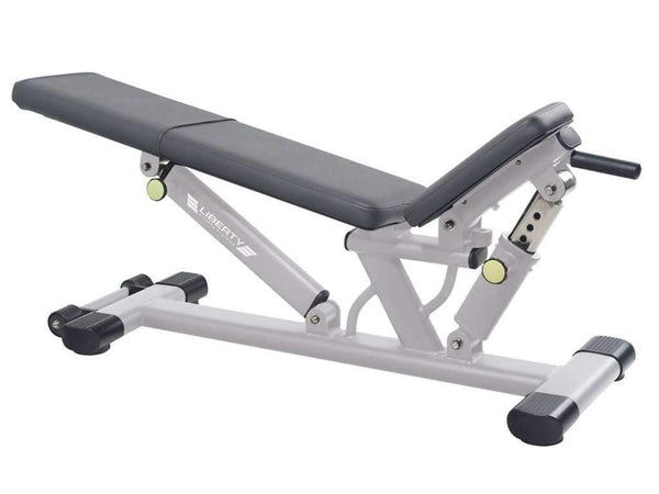LIBERTY FITNESS PATRIOT SERIES COMMERCIAL FLAT TO INCLINE BENCH - Garner Fitness Supplies