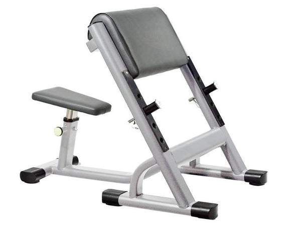 LIBERTY FITNESS PATRIOT SERIES COMMERCIAL SEATED PREACHER CURL - Garner Fitness Supplies