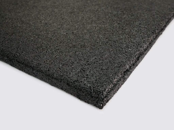 VERSAFIT COMMERCIAL RUBBER FLOORING TILE - BLACK - Garner Fitness Supplies