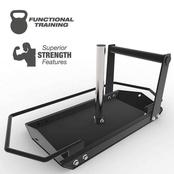 FORCE USA PUSH PULL SLED WITH WRAP AROUND - LASERCUT - Garner Fitness Supplies