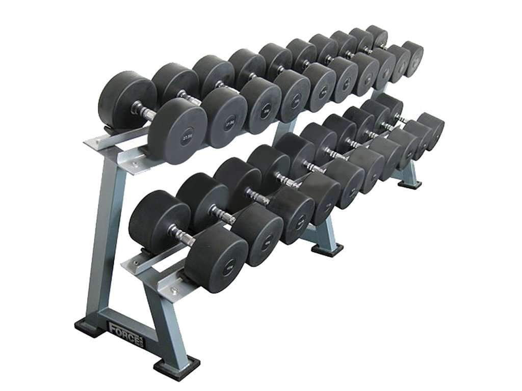 FORCE USA 10 PAIR PROSTYLE DUMBBELL RACK - Garner Fitness Supplies