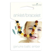Load image into Gallery viewer, Amber teething anklet