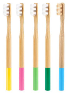 Bamboo toothbrush 5 pack