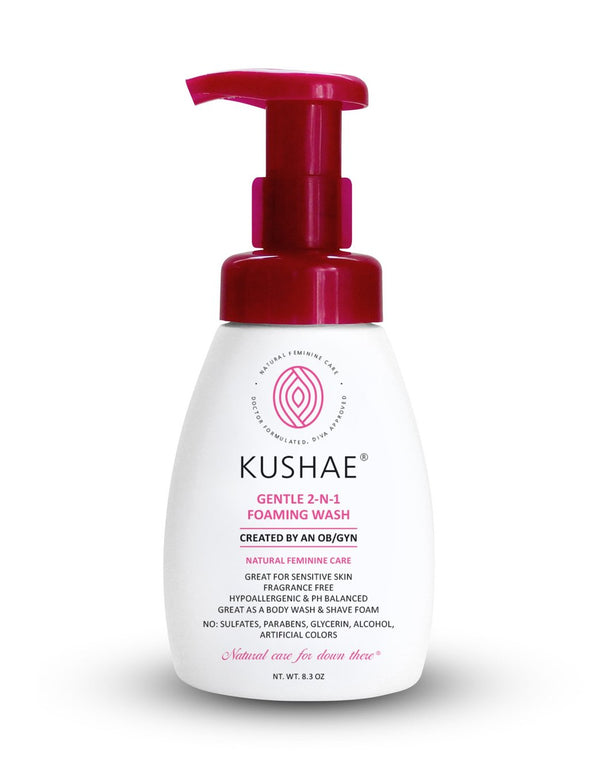 Gentle 2-in-1 Foaming Wash