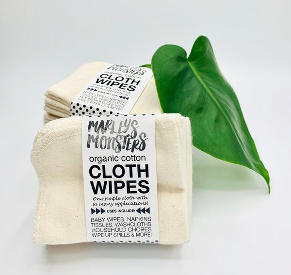 Organic Plush Intimate Wipes - Natural