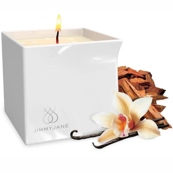 Vanilla Sandalwood - Natural Massage Oil Candle