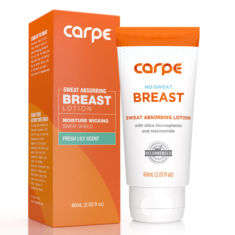 Sweat Absorbing Breast Lotion