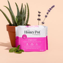 Herbal Infused Pads with Wings