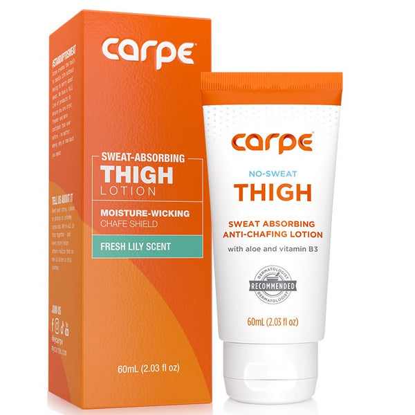 Thigh and Women's Groin Sweat Absorbing Anti-Chafing Lotion