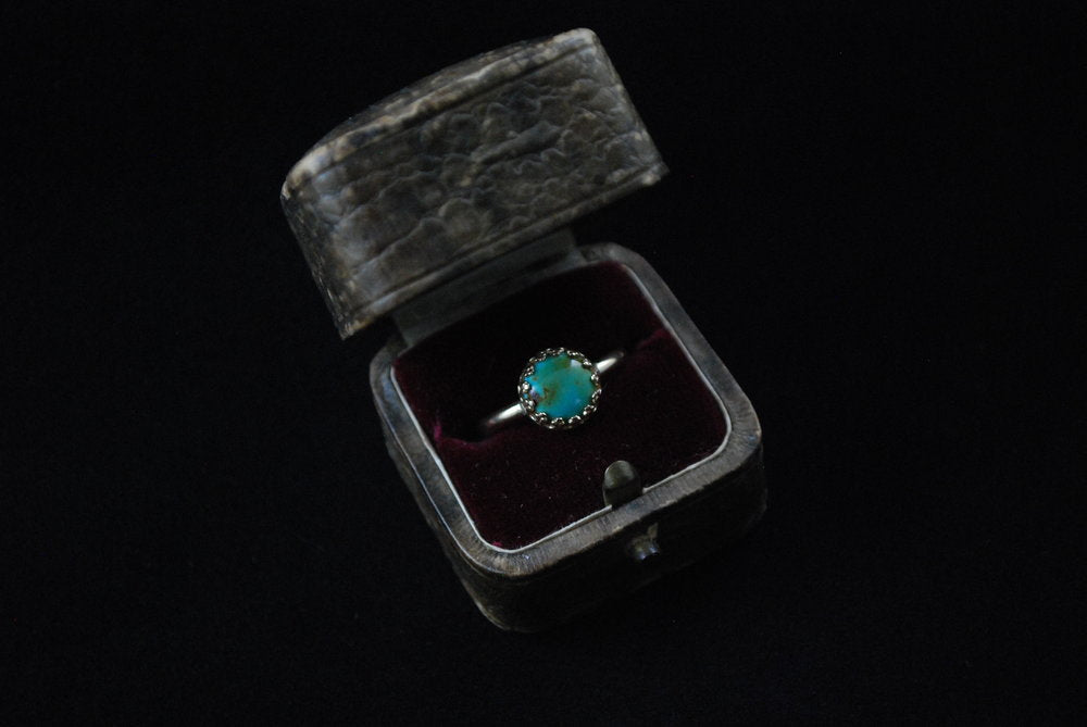 Gold + Turquoise Ring