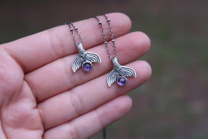 Amethyst Tail Necklaces