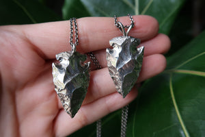 Sterling Silver Arrowhead Necklaces
