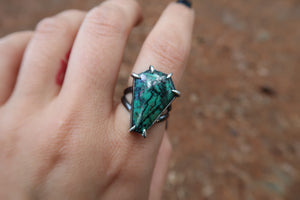 Sonora Sunrise Coffin Ring I