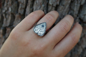 Engraved Planchette Rings