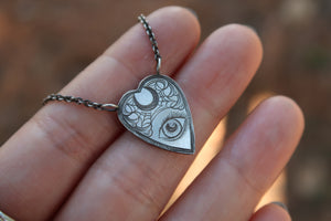 Planchette Necklace