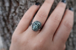 New Lander Coffin Ring