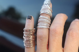 Sterling+Rose+Yellow Gold Midi Sets