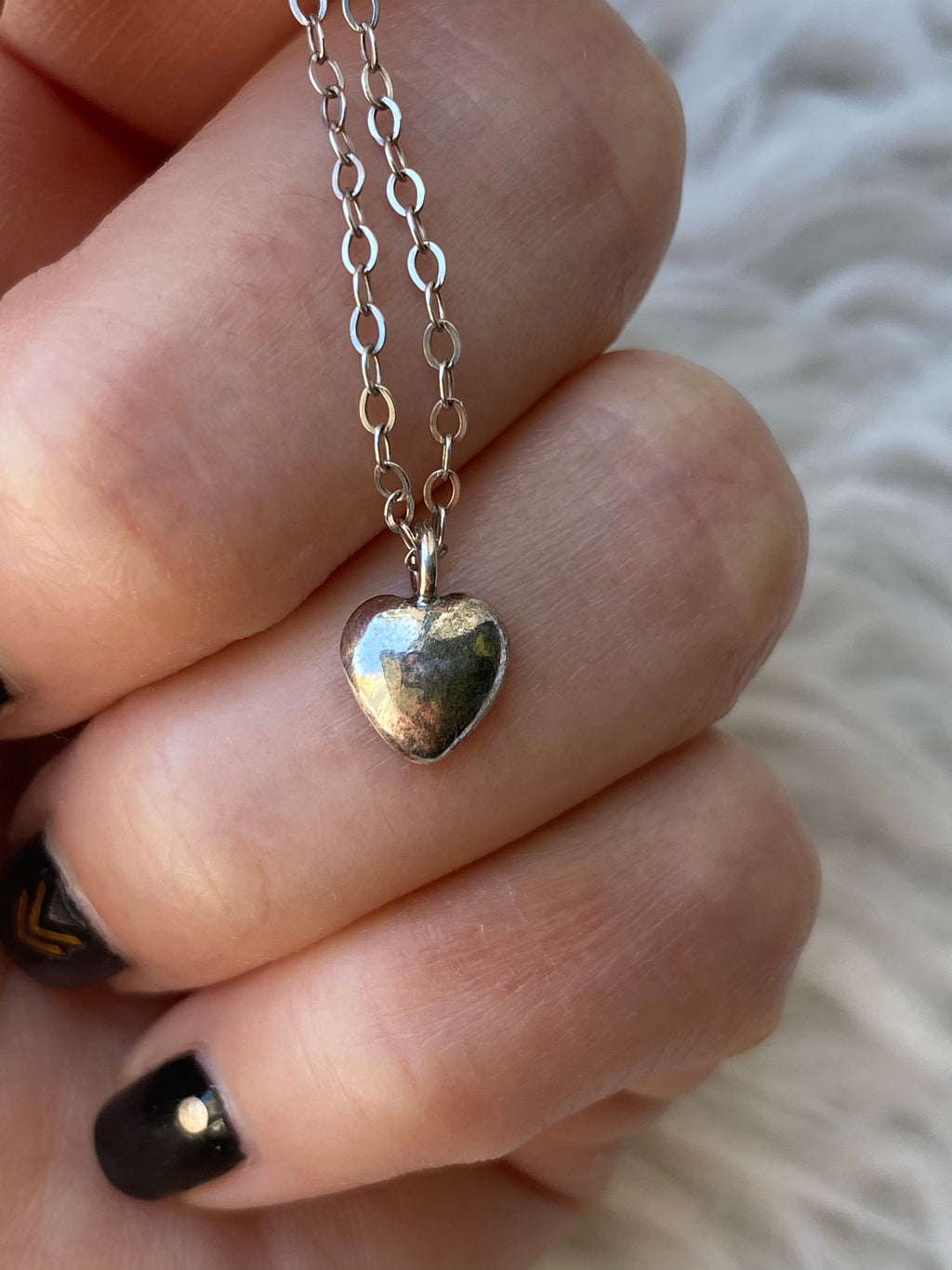 Sterling Heart Necklaces