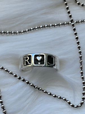 R+J Wedding Band