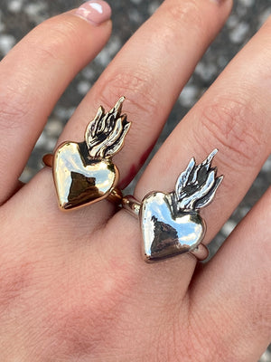 Sacred Heart Statement Ring