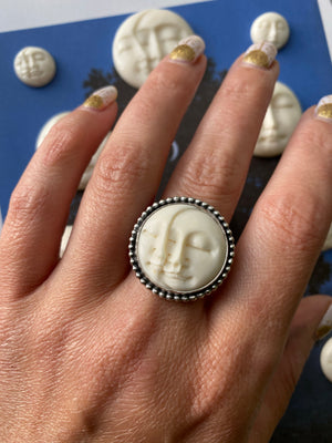 Man in the Moon Ring